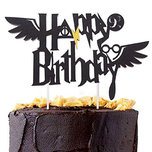 Decoración para tarta de cumpleaños con diseño de Harry Potter de JeVenis
