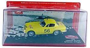 Promocar-pro10440-Lotus Elite Rally Monte Carlo-1962-Escala 1/43-Amarillo