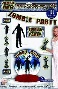 Forum Novelties X79144 Zombie - Set de decoración para fiestas, multicolor, talla única