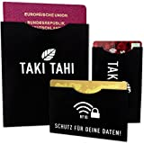 RFID & NFC Schutz-Hüllen (10+2 Set) Sichere Abschirmung von Kreditkarte, Bankkarte, Ausweis & Reisepass Schutz vor Datendiebstahl