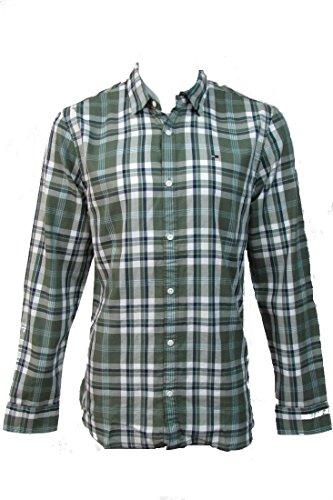 Tommy Hilfiger Grün Kariert (Tommy Hilfiger Shirt SLIM FIT (L))