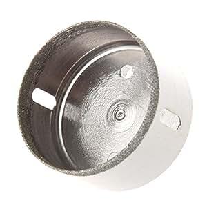 SODIAL(R) 55mm Foret de materiel diamant couche pour le carreau de verre