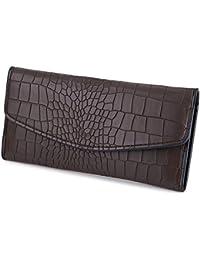 Hannea Guapabien Lady Fashionable Animal Pattern Detachable Party Business Cash Card Holder Clutch Bag Long Wallet