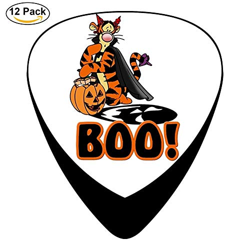 Classic Halloween BOO Design Guitar Picks (12 Pack)