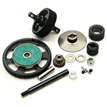 XUNJIAJIE 4PCS Llantas de rueda Beadlock de 2.2 pulgadas para 1/10 RC Crawler Auto modelo Wraith Axial SCX10 D90 (Negro+Plateado) 2hw8tK