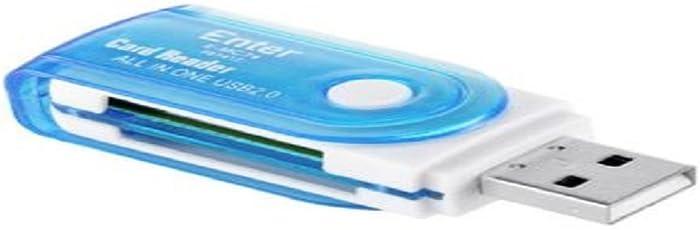 Enter E-MC74 USB Card Reader (Multicolour)