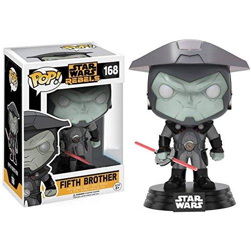 Funko - Figura Pop Star Wars Rebels Fifth Brother