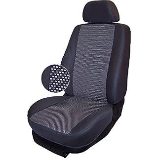 Autokleidung Sitzbezüge T5 Multivan (VS-G0315900), Vordersitzgarnitur, maßgefertigt, Schonbezüge nach Maß, Farbe GRAU 03