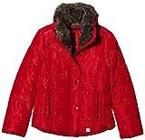 s.Oliver Mädchen Jacke 73.709.51.2340, Rot (Dark Red 3500), 164 (Herstellergröße: L)