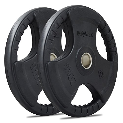 Bodymax Olympic Rubber Radial Weight Plates - Singles