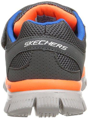 Skechers - Flex Advantagemaster Dash, Scarpe da ginnastica Bambino Grigio (Grigio (CCOR))