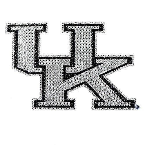 University of Kentucky Wildcats College NCAA Sports Team Collegiate Logo Auto Truck SUV Motorrad Trunk 3D Bling Gem Kristalle Chrom Emblem Selbstklebend Aufkleber