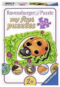 Ravensburger Puzzle 07368 - Mi primer puzzle donde los animales viven, 6 x 2 piezas, colorido
