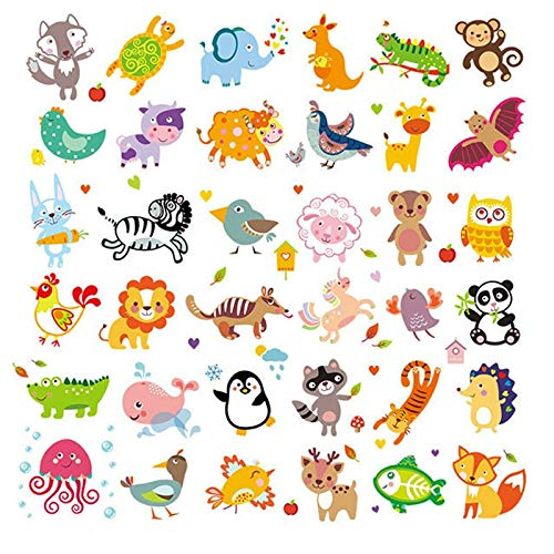 Leather Synthetic - Kid Applique Badge Vinyl Heat Transfer Stickers Kawaii  Cartoon Animals Unicorn Iron On Transfers - Synthetic Harajuku Unicorn