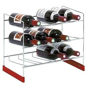 Caddie - 33133303 - Casier acier 12 bouteilles
