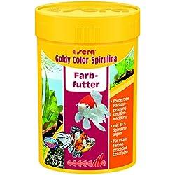 SERA Mangime per pesci goldy color spirulina gr. 39 - Alimenti pesci