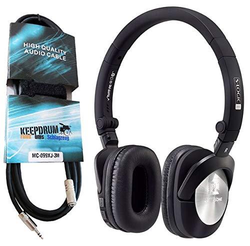 Ultrasone GO Bluetooth Kopfhörer + keepdrum Verlängerungskabel 3, 5mm thumbnail