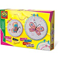 ES SES 14658 Embroidery Set Butterflies