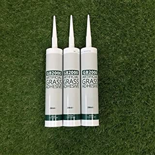 3 x Fastgrip Adhesive Cartridges For Installing Astro Garden Lawn & High Density Fake Artificial Grass & Turf