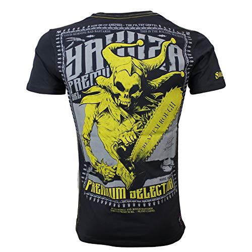 Yakuza Premium Herren T-Shirt 2612 Stone dunkelgrau