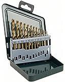 Bosch HSS-Titanium 2607019436 Plastic Drill Bit Set (Multicolor, 13-Pieces)