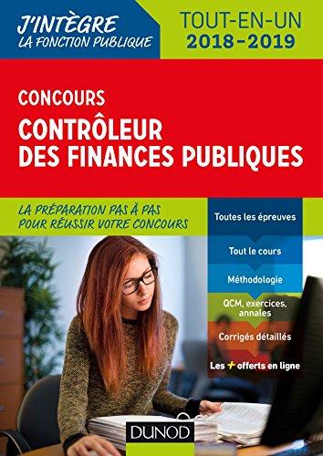 Concours Contrleur des finances publiques - Tout-en-un - 2018-2019