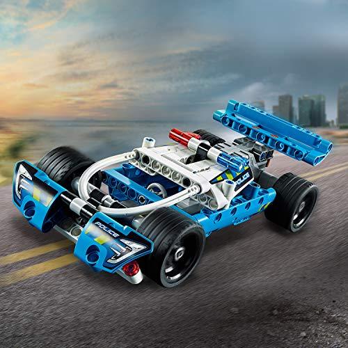 LEGO Technic - La voiture de police - 42091 - Jeu de construction