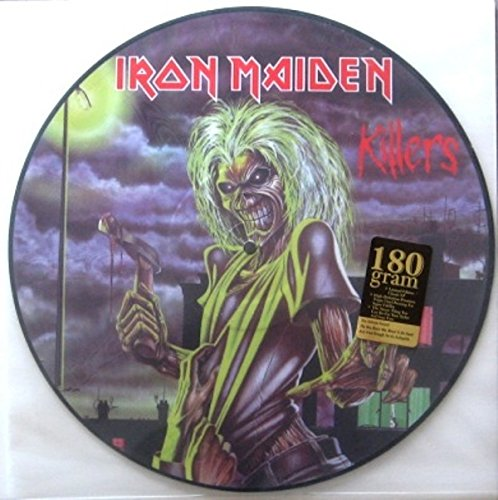 KILLERS.PICTURE DISC. (Iron Maiden Picture Disc Vinyl)