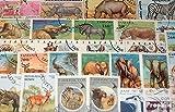 sellos para coleccionistas: África 50 diferentes africanos animales sellos - Prophila - amazon.es