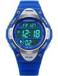 Mädchen Uhren Jungen Kinder Sport Uhr Geschenke Wasserdichte Alarm Countdown Led Digitale Kinder Uhr Relogio Infantil Skmei 2018 Uhren