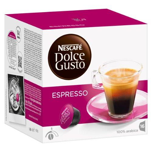 Buy Nescafé Dolce Gusto Rapido Set: Espresso, Ristretto, Barista, 3 x 16 Capsules from Nestlé