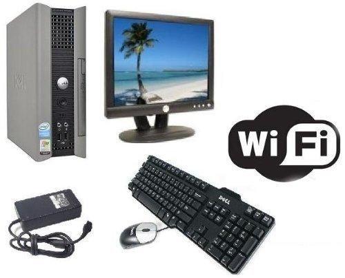 DELL Optiplex 745 USFF All in One Dual Core PC Desktop Computer system w/ Windows 7 Pre Instaliert + Dell 43.2cm TFT Wi-Fi Bereit & KOSTENLOS Tastatur & Maus (Dell One 7 Windows In Desktop-all)