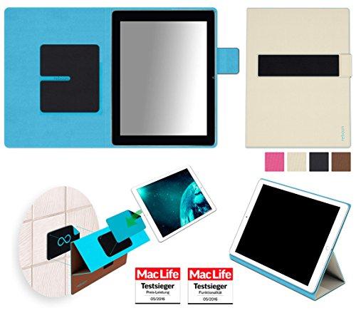 reboon Hülle für Blaupunkt Endeavour 1000 HD Tasche Cover Case Bumper | in Beige | Testsieger