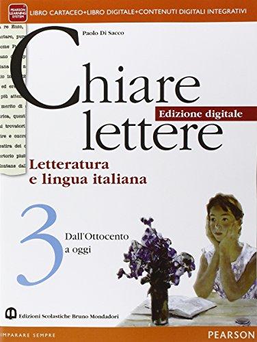 Chiare lettere. Per le Scuole superiori. Con e-book. Con espansione online: 3