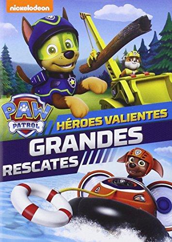 PAW PATROL 05: HEROES VALIENTES, GRANDES RESCATES [DVD]