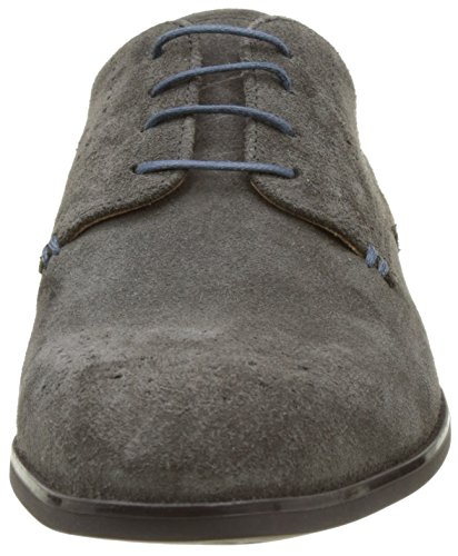 Geox U New Life A, Derby Homme Gris  (Mudc6372)
