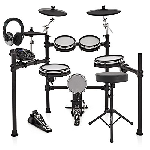 WHD 517-DX Pro Mesh Electronic Drum Kit Package Deal