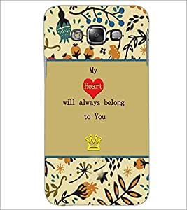 PrintDhaba Quote D-3670 Back Case Cover for SAMSUNG GALAXY GRAND 3 (Multi-Coloured)