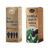 Krishna's Fat Reducer Juice 500 ml and Krishna's Karela Jamun Neem Mix Juice