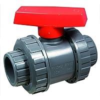 PVC–Válvula de bola presupuesto Diámetro 40mm