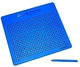 Magnetic Drawing Board, Magnet-Tafel mit Stift zur Förderung der Feinmotorik und Auge-Hand-Koordination, inkl. 4 Mustervorlagen