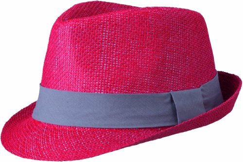 Myrtle Beach Hut Street Style, red/Dark-Grey, S/M, MB6564 rddg