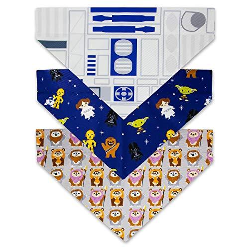 Disney Tails Star Wars Hundehalstuch, Größe L, 3 Stück