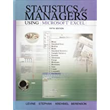 Statistics for Managers Using Excel and Student CD Package: United States Edition