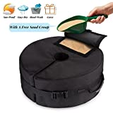 "Best Umbrella Bases - Tee-Moo 18"" Round Detachable Umbrella Base Weight Bag Review"
