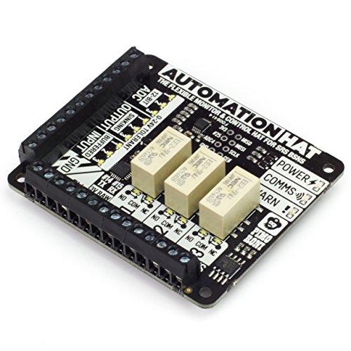 Automation Hat - Prendi Il Controllo di e monitorare Il Vostro Mondo con Il Nostro ultimo poliedrico Raspberry Pi Hat!