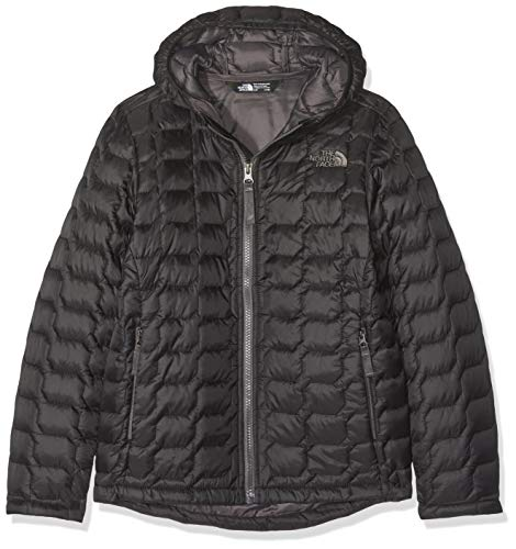 THE NORTH FACE Boy's Thermoball Hoodie Garçon, TNF Black, FR : L (Taille Fabricant : L)