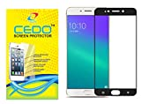 CEDO Full Coverage Edge To Edge Tempered Glass Screen Protector For Oppo F3 (Full Glass Black)(Not for F3 Plus)