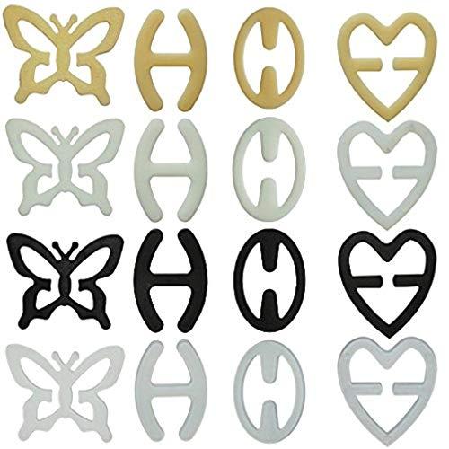 Set 3Clips für BH-Träger Schmetterling -