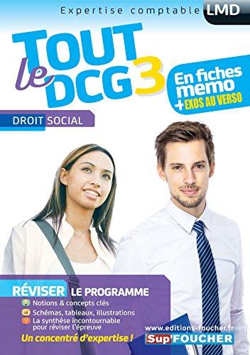 Tout le DCG 3 - Droit social